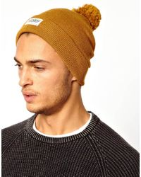Pull&Bear - Brown Bobble Hat for Men - Lyst