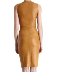 The Row - Brown Dastuls Dress - Lyst