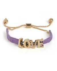 BaubleBar - Purple Lavender Love Wrap - Lyst