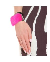Fendi | Purple Mink Furtrimmed Cuff | Lyst