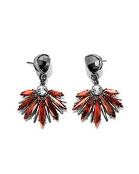 Henri Bendel - Red The Waldorf Drop Earring - Lyst