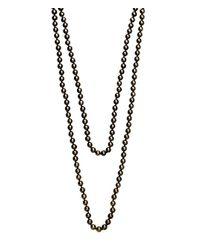 Henri Bendel - Gray Jetsetter Padlock Necklace - Lyst
