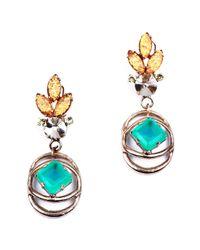Lulu Frost - Althea Green Earrings - Lyst