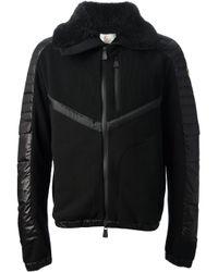 Moncler Grenoble - Black Zip Up Jacket for Men - Lyst
