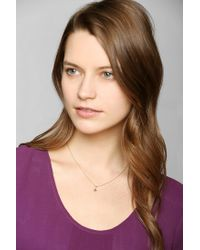 Urban Outfitters - Metallic Adina Reyter Tiny Stacked Star Necklace - Lyst