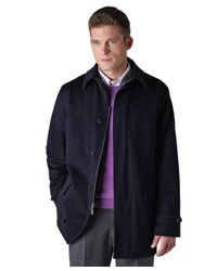 Brooks Brothers - Blue Brooksstorm® Walking Coat for Men - Lyst