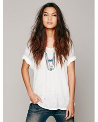 Free People | Blue Karen London Womens Ankh Lari | Lyst