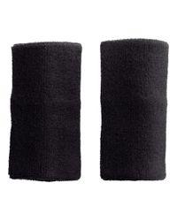 H&M - Black 2pack Sweatbands for Men - Lyst