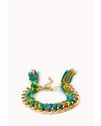 Forever 21 - Multicolor Bright Thing Friendship Bracelet - Lyst