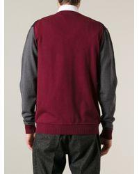 Frankie Morello - Blue Vneck Sweater for Men - Lyst