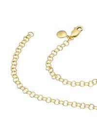 Monica Vinader - Metallic Mini Lungo Chain Necklace - Lyst