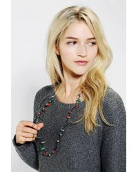 Urban Outfitters - Multicolor Holiday Flashing Light Necklace - Lyst