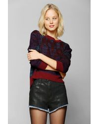 Urban Outfitters - Multicolor Ecote Mystic Lady Cropped Sweater - Lyst