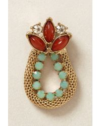 Anthropologie - Red Nepenthe Earrings - Lyst