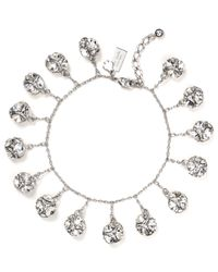 kate spade new york | Metallic Lady Marmalade Mini Charm Bracelet | Lyst