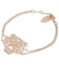 KENZO - Metallic Tiger Bracelet - Lyst