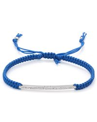 Tai | Blue Arrow Cord Bracelet | Lyst