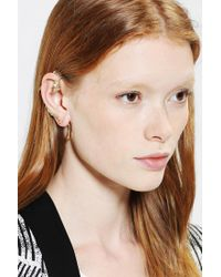 Urban Outfitters - Metallic Little Dragon Ear Hanger Earring - Lyst