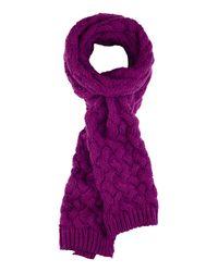 Sandwich - Purple Knitted Scarf - Lyst
