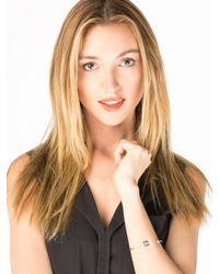 Sarah Chloe - Metallic Elle Bangle  - Lyst