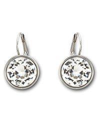 Swarovski - Metallic Bella Pierced Earrings - Lyst