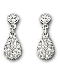 Swarovski - Metallic Heloise Pierced Earrings - Lyst