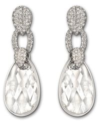 Swarovski | Metallic Selma Pierced Earrings | Lyst
