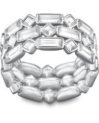 Swarovski | Metallic Viola Ring | Lyst