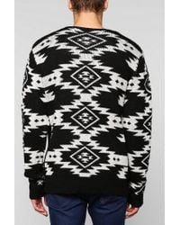 Urban Outfitters | Black The Narrows Diamond Sweater for Men | Lyst