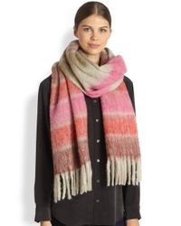 Marc By Marc Jacobs - Multicolored Striped Scarf - Lyst