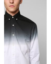 Urban Outfitters - Gray Shades Of Grey By Micah Cohen Dipdye Buttondown Shirt for Men - Lyst