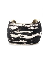 Isabel Marant | Multicolor Calf Hair Cuff | Lyst