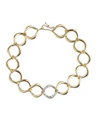 Jamie Wolf | Metallic Aladdin Large Link Bracelet With Diamonds | Lyst