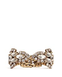 J.Crew | White Crystal Icicle Bracelet | Lyst