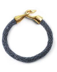 Lulu Frost | Blue George Frost Harpoon Bracelet Navybrass for Men | Lyst