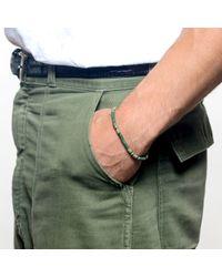 Lulu Frost - Green George Frost Morse Bracelet Luck for Men - Lyst