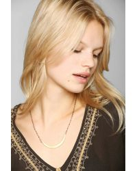 Urban Outfitters - Metallic Jessica Decarlo Crescent Moon Necklace - Lyst