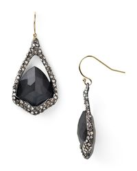 Alexis Bittar | Black Hematite Doublet Drop Earrings | Lyst