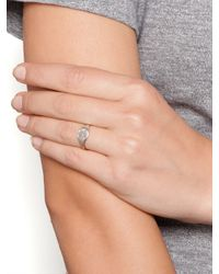 Ariel Gordon - Metallic Silver Classic Signet Ring Ships 4 Weeks From Order Date - Lyst