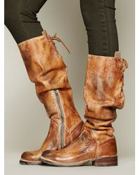 Bed Stu - Brown Manchester Leather Tall Boots - Lyst