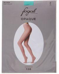Fogal - Blue 30 Den Semi Opaque - Lyst