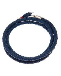 Miansai - Blue Trice Braided Bracelet for Men - Lyst