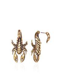 Pamela Love - Metallic 2part Scorpion Earring - Lyst