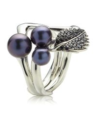 Shaun Leane | Purple Blackthorn Cluster Ring | Lyst