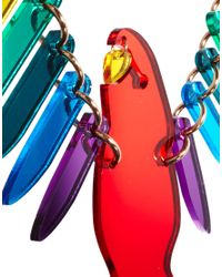 Tatty Devine - Multicolor Large Parakeet Necklace - Lyst