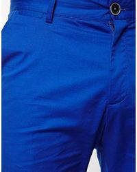 ASOS - Blue Esprit Suit Shorts for Men - Lyst