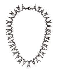Eddie Borgo | Black Fractured Heart Collar Necklace  | Lyst