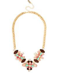 BaubleBar | Pink Floral Capri Necklace | Lyst
