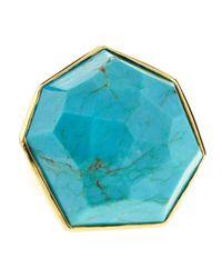 Ippolita | Blue Turquoise Large Stone Ring | Lyst