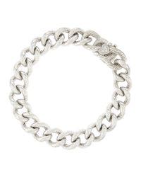 Judith Ripka - Metallic Contempo Curblink Bracelet - Lyst